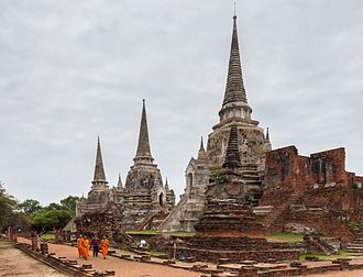 Mortal Kombat (film) - The Wat Phra Si Sanphet temple was used in the opening of the film for the fight between Shang Tsung and Liu Kang's brother