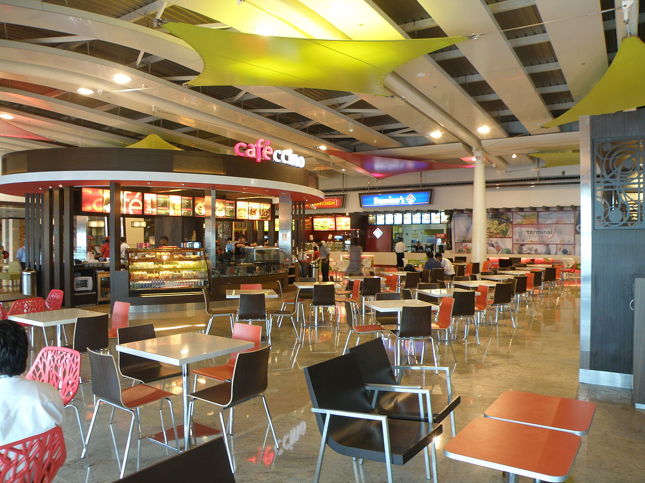 File:Terminal food court between terminals 1A and 1C at ...