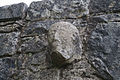 Termon, County Clare, Teampall Chrónáin North Wall Doorway Head 2015 09 03.jpg