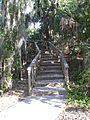 Terra Ceia FL Madira Bickel SP mound stairs01.jpg