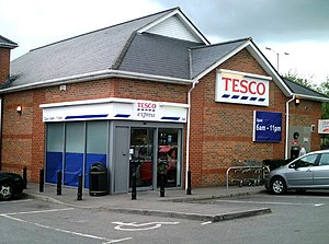 Tesco Express local store in Trowbridge, Wilts...