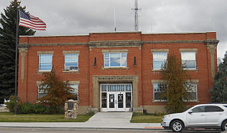 National Register of Historic Places listings in Teton County, Idaho - Image: Teton County Court House