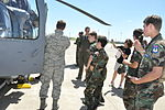 Texas Civil Air Patrol students take a 305 RQS helo tour.JPG