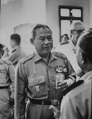 Thanom Kittikachorn - Thanom Kittikachorn in 1960