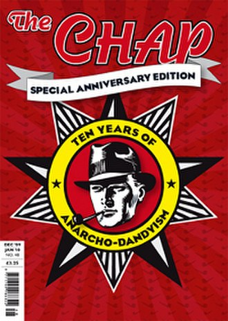 The Chap - Front cover of The Chap no. 48, the 10 year anniversary issue.