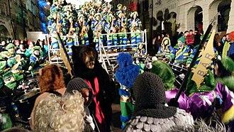 "Carnival in Bern - The ""bear"" at Berner Fasnacht 2015"
