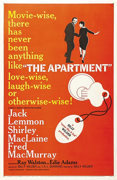 Picture of a movie: The Apartment
