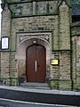 The Church of St Andrew, Swiss Street, Accrington, Doorway - geograph.org.uk - 1037246.jpg