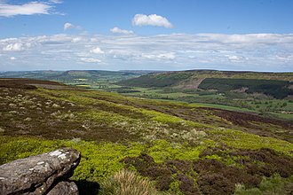 Cleveland Hills - Image: The Cleveland Hills from Urra Moor