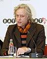 The DATA report 2007 press conference with Bono, Herbert Groenemeyer, Bob Geldof, Dr. Ngozi Okonjo-Iweala (499541031).jpg