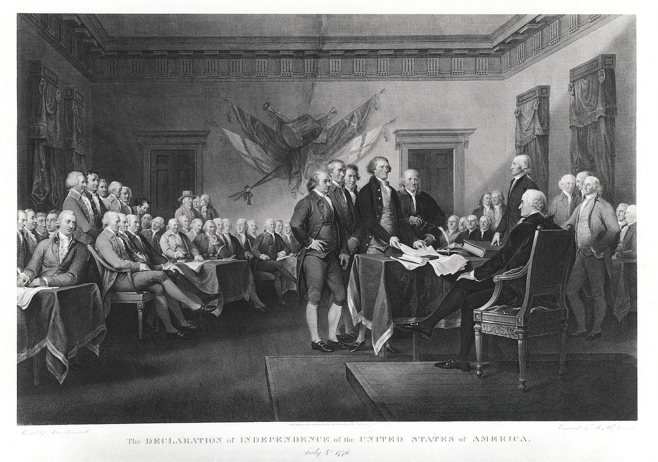 the history of the declaration of independence in the united states Us history ap®︎ us history  background and introduction to the united states declaration of independence  first draft of the declaration of independence.