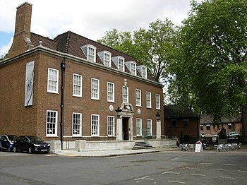 English: The Foundling Museum, Bloomsbury. Thi...