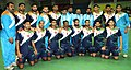 The Gold Medal winning team Men of India in the handball event, at the 12th South Asian Games-2016, in Guwahati on February 15, 2016.jpg