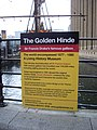 The Golden Hinde sign at St Mary Overie's Dock London - geograph.org.uk - 1730050.jpg