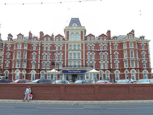 The Imperial Hotel, North Promenade, Blackpool - DSC06685