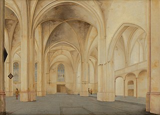 Interior of the Cunerakerk in Rhenen