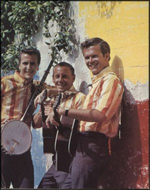 The Kingston Trio - The Kingston Trio's second troupe after Guard's departure: John Stewart, Nick Reynolds, Bob Shane (Summer 1963)