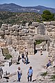 The Lion Gate from inside the citadel of Mycenae on October 27, 2019.jpg