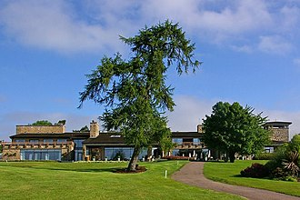 Celtic Manor Resort - The Lodge, clubhouse for the Roman Road and Montgomerie golf courses