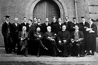 Ardingly College - Masters of Ardingly in 1904