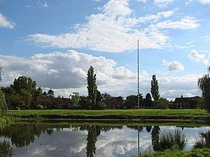 Nun Monkton - Image: The Maypole on the village green, Nun Monkton