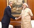 The Microsoft CEO, Shri Satya Nadella calling on the Prime Minister, Shri Narendra Modi, in New Delhi on May 30, 2016.jpg