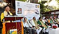 The Minister of State for Tribal Affairs, Shri Sudarshan Bhagat addressing at the launch of 'Tribes India' e-commerce portal, M-commerce app and Tribes India banners on AmazonSnapdealPaytmGeM, in New Delhi.jpg