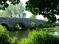 The Packhorse Bridge at Spetisbury Dorset - geograph.org.uk - 16878.jpg