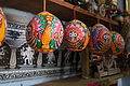 The Paintings on Betel nut (Areca nut) by the artists of Raghurajpur.JPG