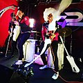 The Phenomenauts - Ripley Angel Atom - Streamerator Action Shot - The Slidebar Rock N Roll Kitchen 2017 - Photo by Erica Dominguez.jpg