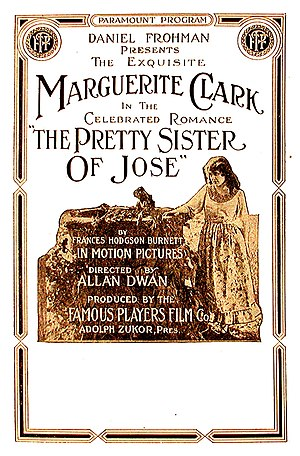 The Pretty Sister of Jose (1915 film) - 1915 lobby poster