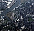 The River Clyde in Glasgow from the air (geograph 6125214) (Partick).jpg
