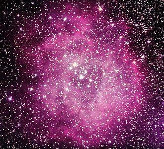 NGC 2244 - NGC 2244 in the Rosette Nebula
