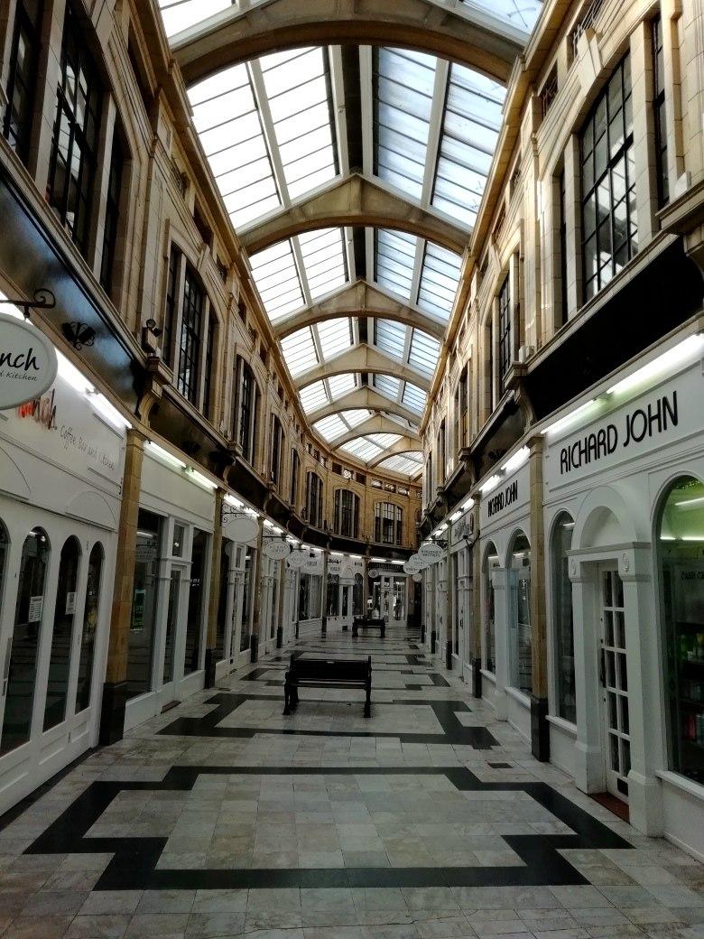 The Royal Arcade Worthing (Edwardian Architecture)