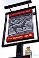The Running Horse (2) - sign, 38 Bridge Street - geograph.org.uk - 2136559.jpg