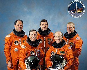 STS-26 - Image: The STS 26 Return To Flight Crew GPN 2000 001174
