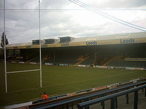 1993 New Zealand rugby league tour of Great Britain and France - Image: The South Stand at Headingley Stadium