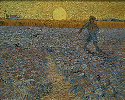 The Sower - a painting by Van Gogh