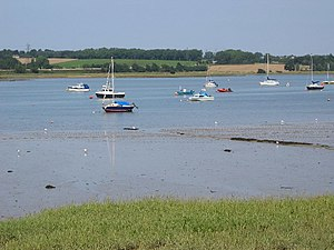 Manningtree - Image: The Stour Estuary geograph.org.uk 14415