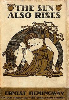 <i>The Sun Also Rises</i> Novel by Ernest Hemingway