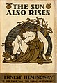 The Sun Also Rises (1st ed. cover).jpg