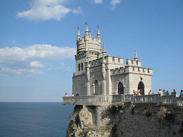 Lastovičie Hniezdo, zámok na Jalte, Krym