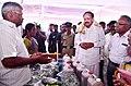 The Vice President, Shri M. Venkaiah Naidu visiting the Exhibition, organised on the Zero Budget Natural Farming, at S.N. Palem village, in Krishna District, Andhra Pradesh on August 23, 2018.JPG