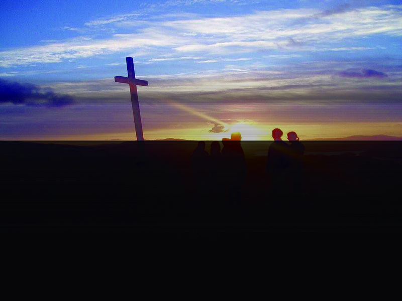 File:The Way of the Cross at sunset.jpg