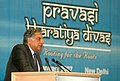 The chairman, Investment Commission Shri Ratan Tata addressing at the Plenary 4 How to get US $ 1.5 Trillion of Capital Investment The Resource Hurdle for Development at the 3rd day of the 5th Pravasi Bharatiya Divas-2007 in.jpg