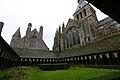 The cloister - Mont St Michel (32881659276).jpg