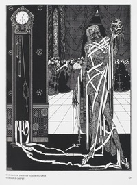 Illustration from the Masque of the Red Death, 1919 (source: Wikipedia)