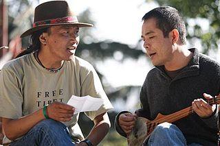 Ngawang Choephel Tibetan film director