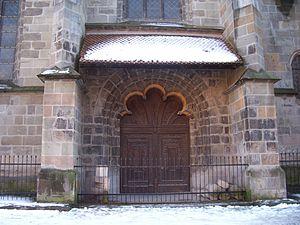 Biserica Neagră - Image: The gold gate