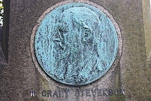 William Grant Stevenson - Memorial to William Grant Stevenson, by Henry Snell Gamley